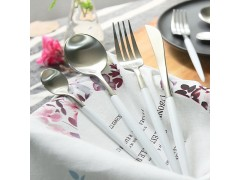 304不锈钢牛排刀叉 西餐餐具刀叉两件套装 刀叉勺三件套